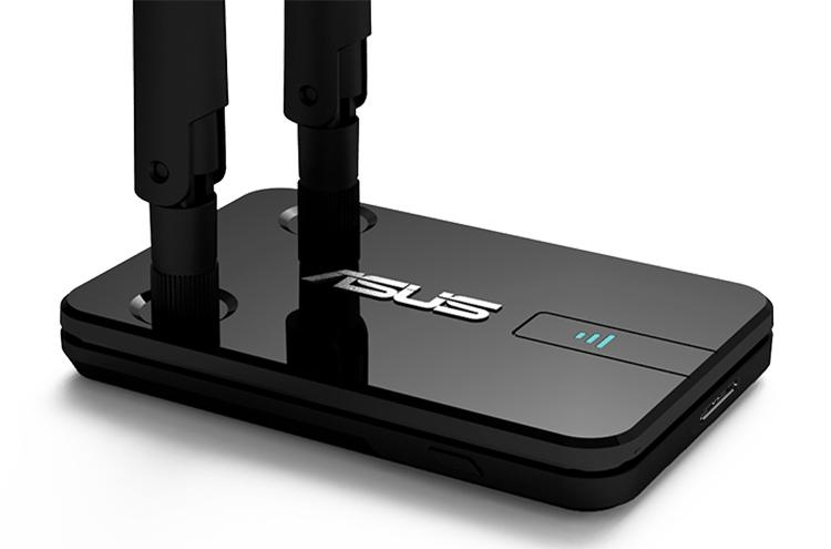 ASUS представила Wi-Fi-адаптер USB-AC58 с двумя съёмными антеннами