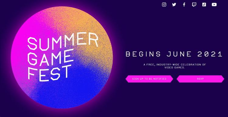 Фестиваль игр Summer Game Fest 2021 пройдёт в июне