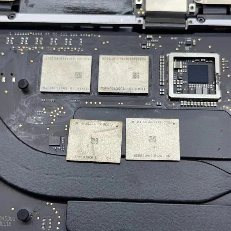 В MacBook на Apple M1 всё же можно самостоятельно увеличить SSD и ОЗУ. Но риск угробить ноутбук очень высок