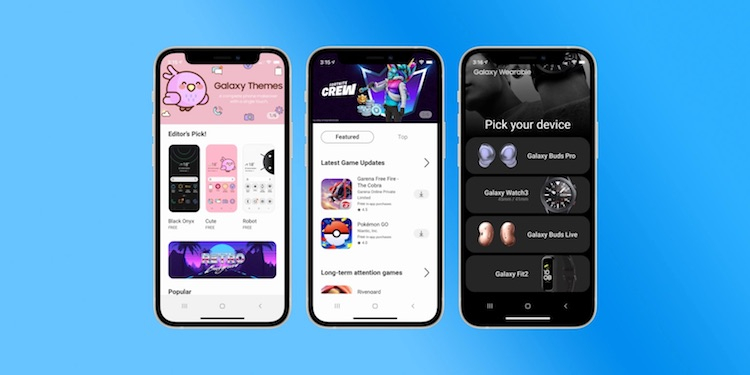Samsung запустила приложение iTest для iPhone, которое имитируют интерфейс смартфонов Galaxy