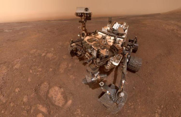 Марсоход Curiosity обнаружил признак того, что когда-то на Красной планете могла существовать жизнь