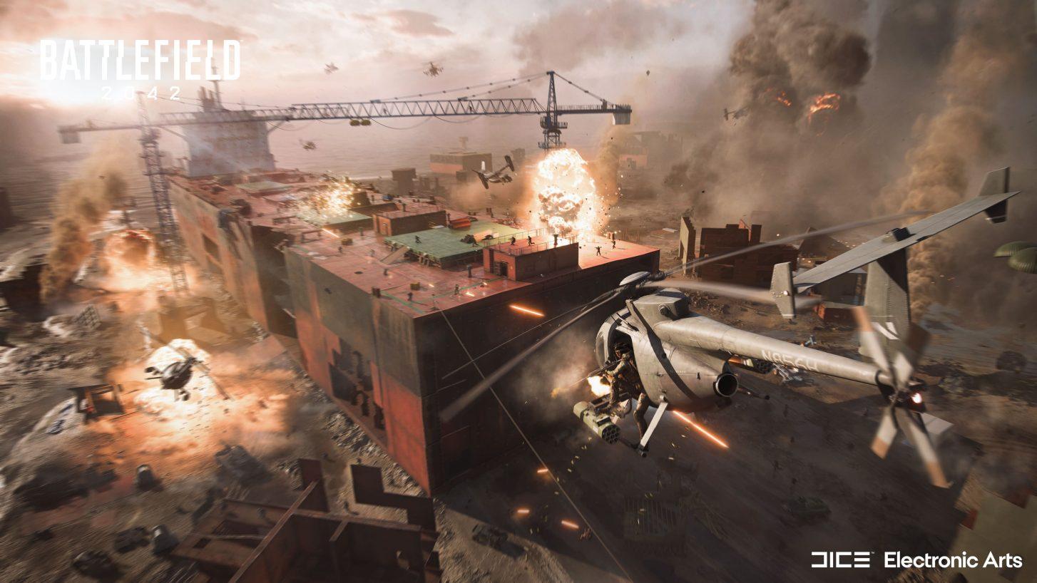 Масса подробностей Battlefield 2042: никакой сюжетной кампании, боевой пропуск и специалисты
