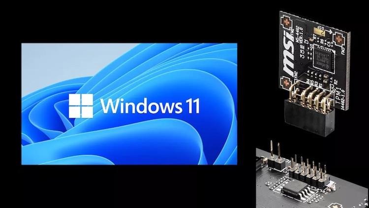 Анонс Windows 11 привёл к дефициту TPM-модулей