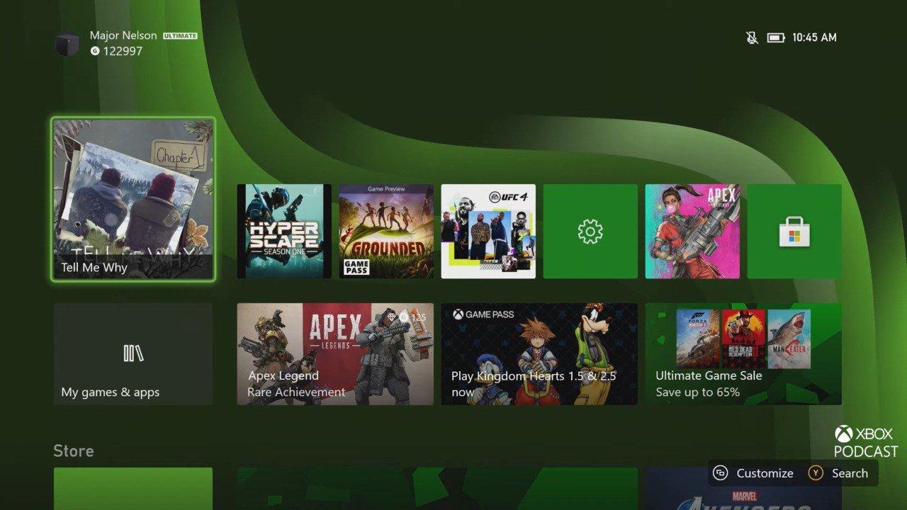 Состоялся релиз ноябрьского обновления для Xbox Series X, S и Xbox One