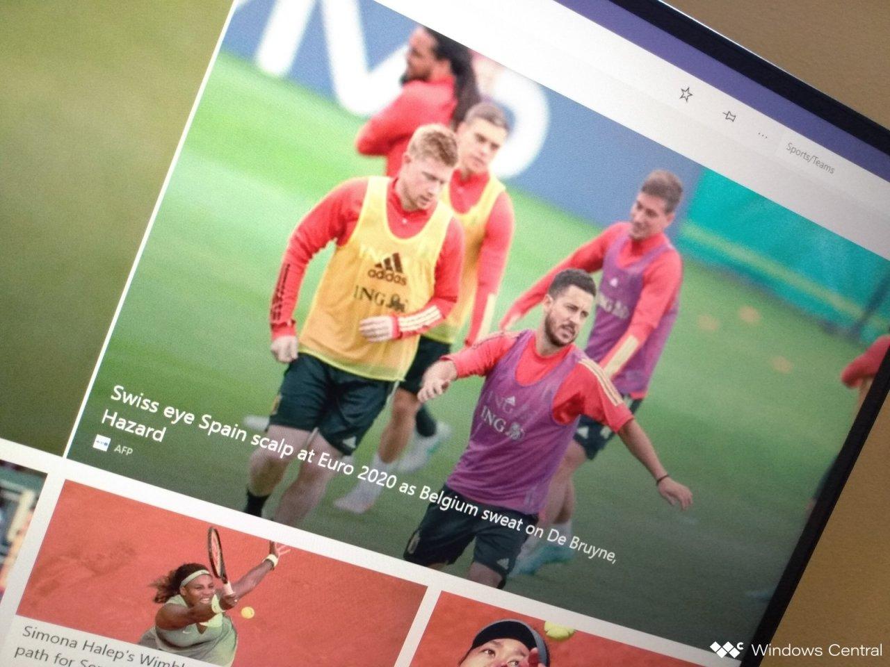 Microsoft прекращает поддержку приложения MSN Sports для Windows 10