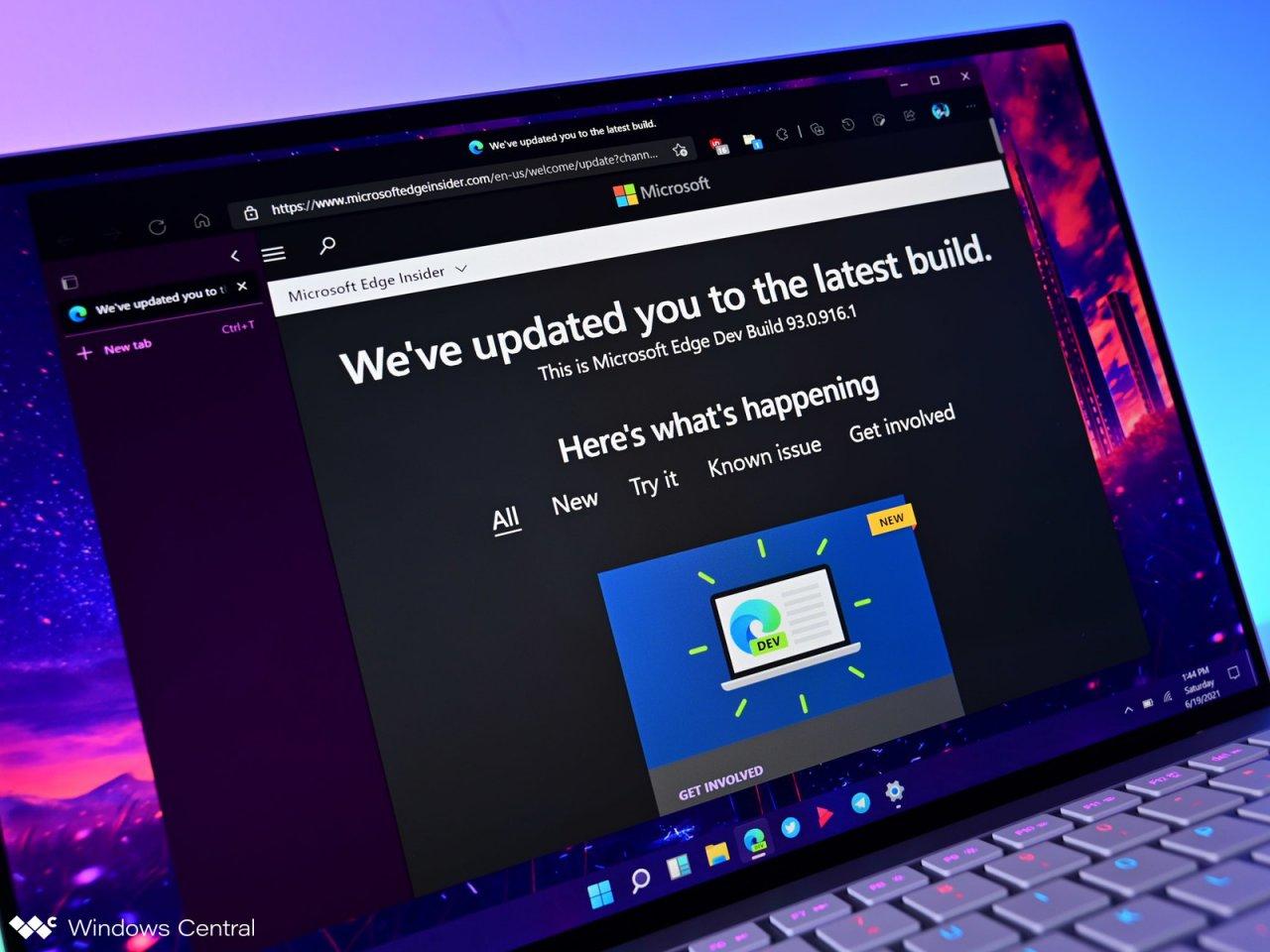 Microsoft тестирует визуальное обновление Microsoft Edge для Windows 11