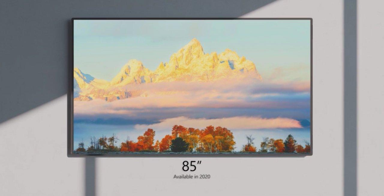 85-дюймовый Surface Hub 2S стал доступен для корпоративных клиентов