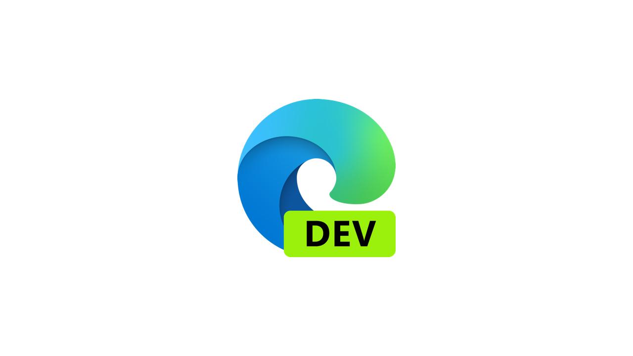 Выпущена сборка Microsoft Edge Dev 90.0.796.0