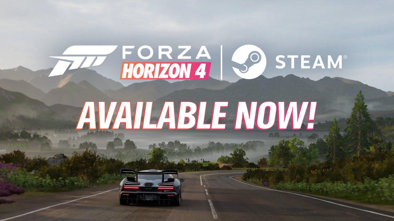 Forza Horizon 4 теперь можно приобрести в Steam