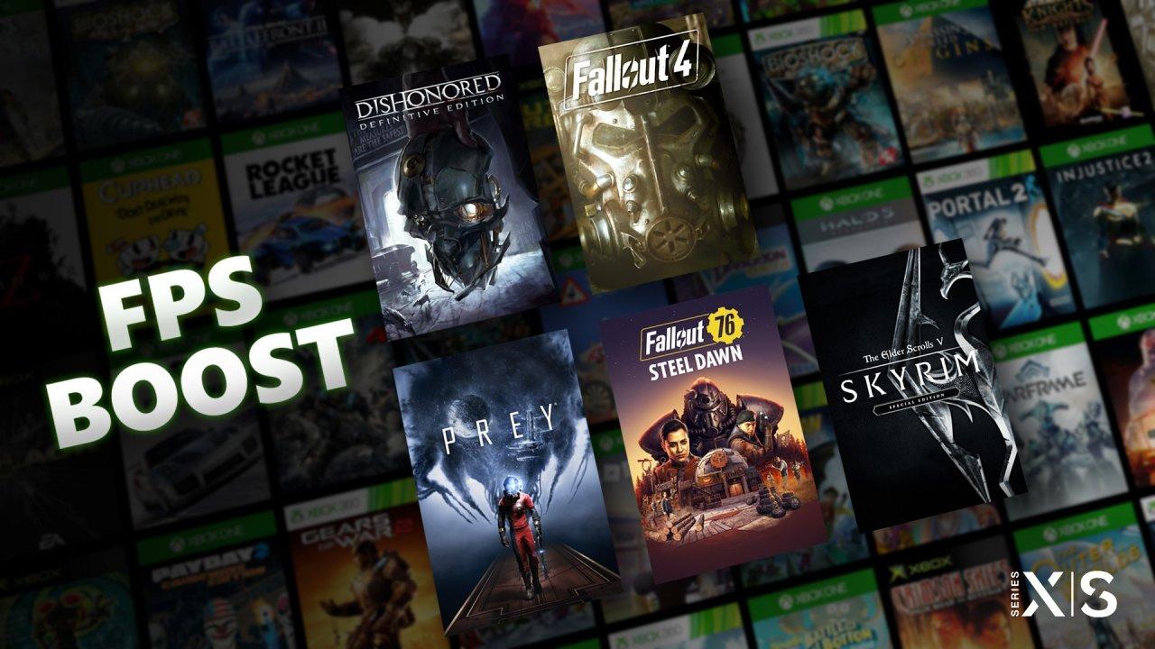Пять игр Bethesda получили поддержку FPS Boost на Xbox Series X S