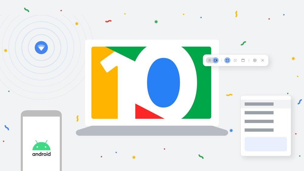 Google представила функцию Phone Hub для Chrome OS