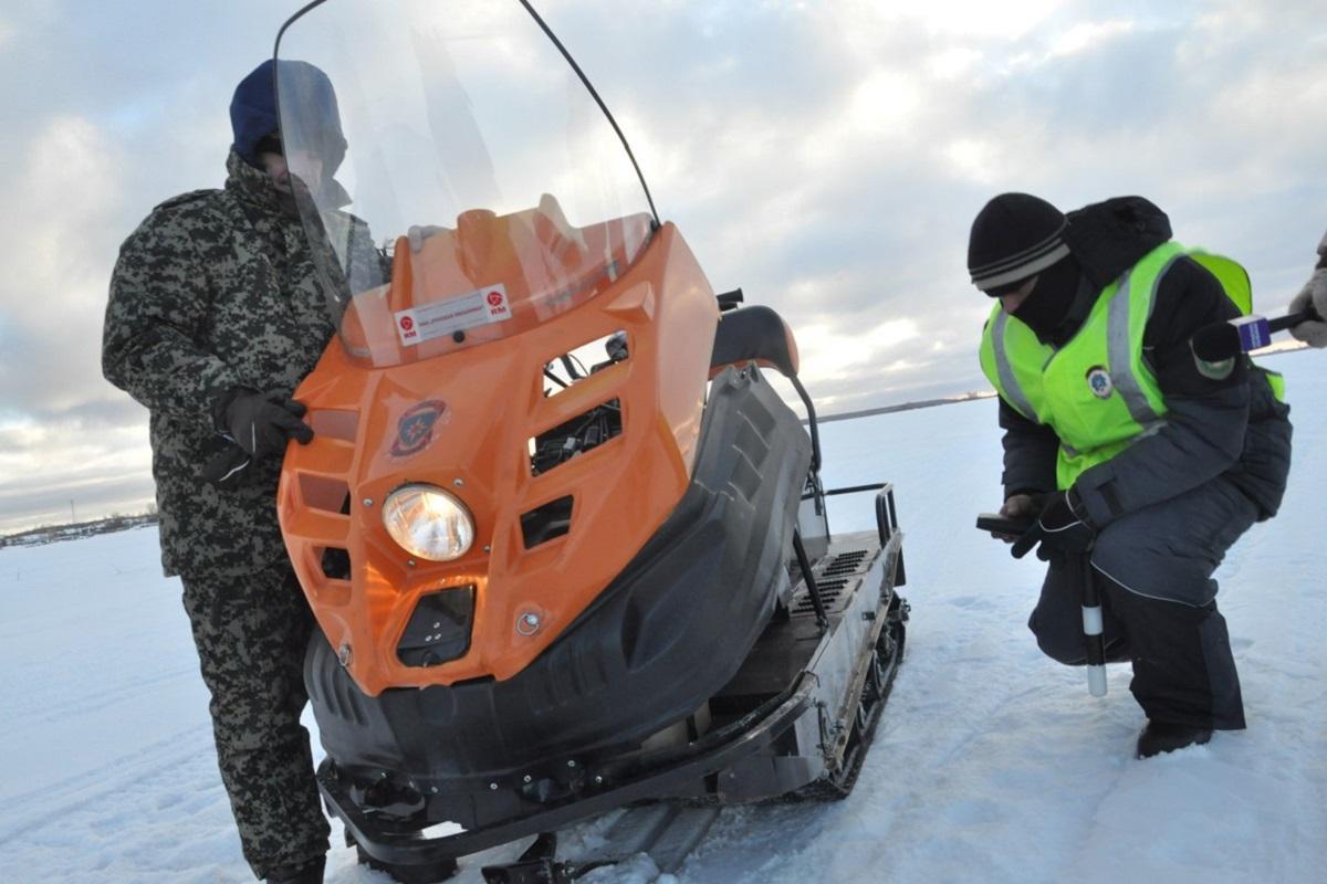 В Тверской области проверяют снегоходы и мотовездеходы
