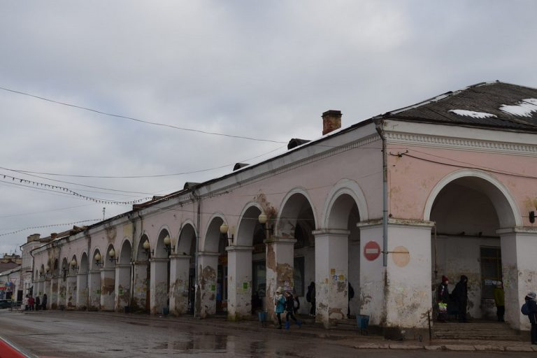 Разрабатывается проект ремонтно-реставрационных работ торговых рядов в Тверской области