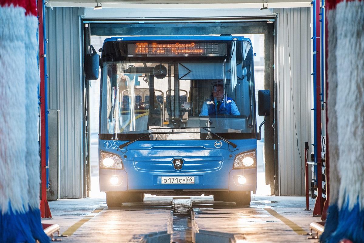 В Твери изменится часть автобусных маршрутов
