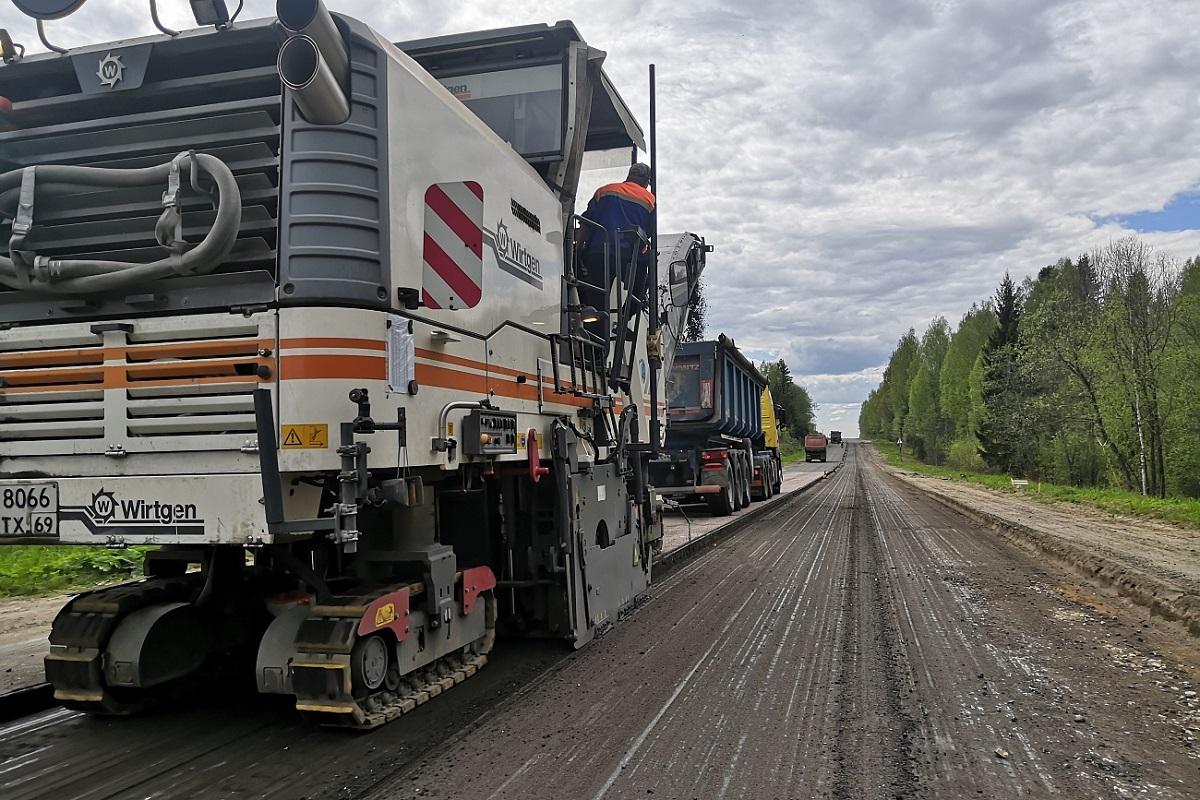 Более 380 километров дорог отремонтируют в Тверской области