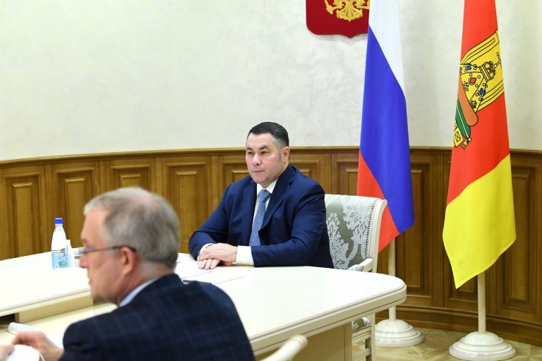 Губернатор Игорь Руденя поблагодарил медиков Тверской области за работу в уходящем году