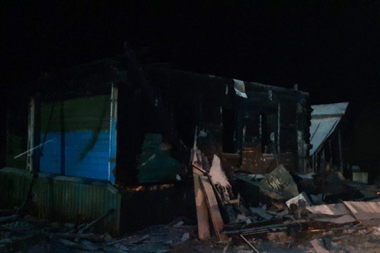 Завершена проверка по факту гибели 6-летней девочки, сгоревшей в Кесовогорском районе