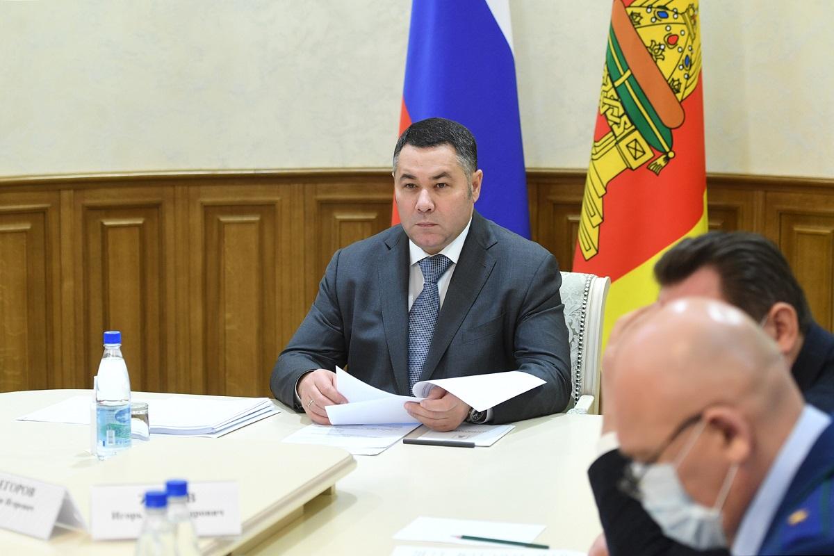 Выездные прививочные бригады будут работать на базе четырех больниц Тверской области