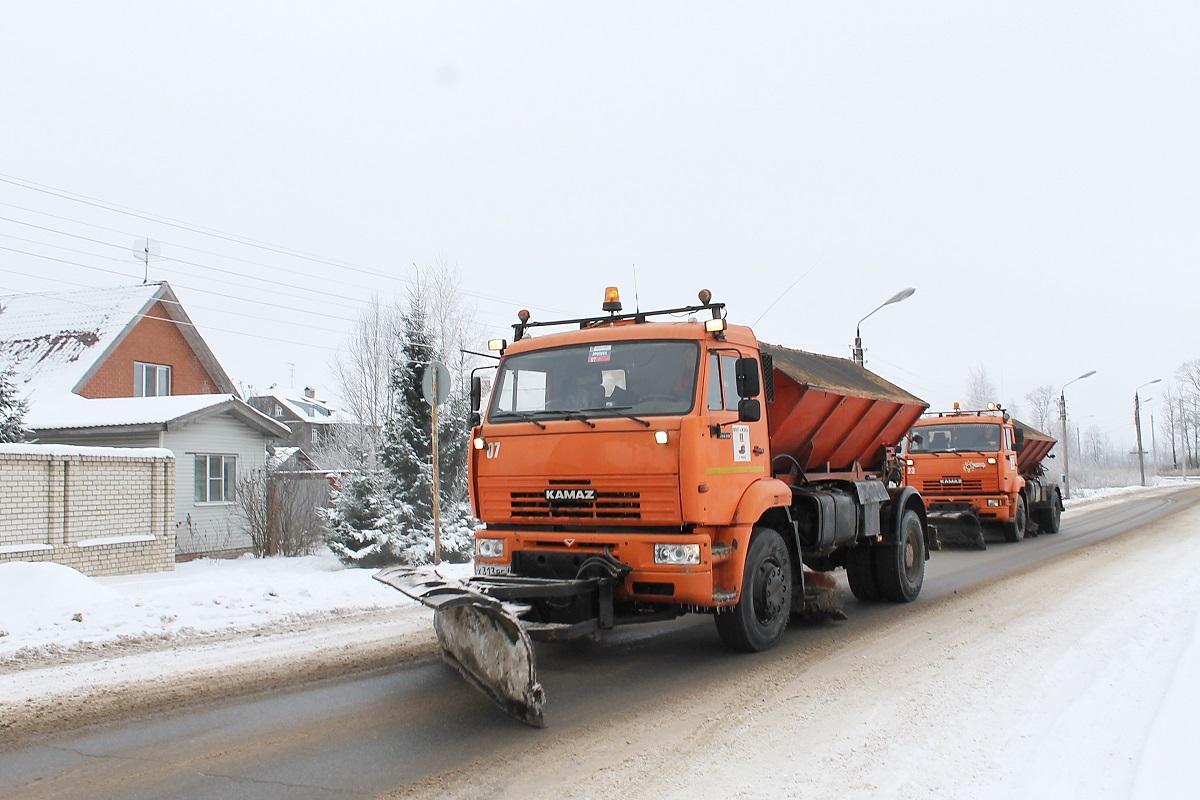 В Твери в усиленном режиме ведется уборка города