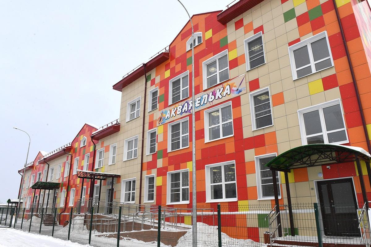 Новый детский сад на 100 мест открыт в Тверской области
