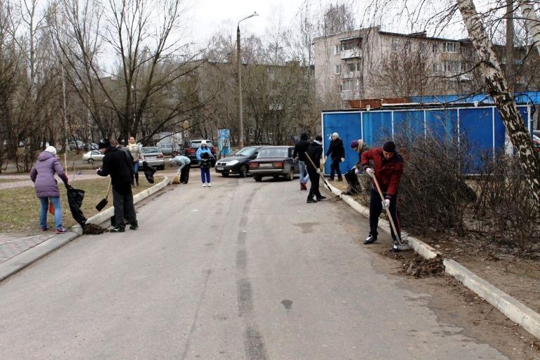 Жителей Твери призвали выйти на Всероссийский субботник