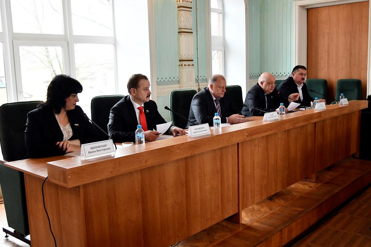 Спикер Законодательного Собрания Сергей Голубев: Осташков стал более ярким