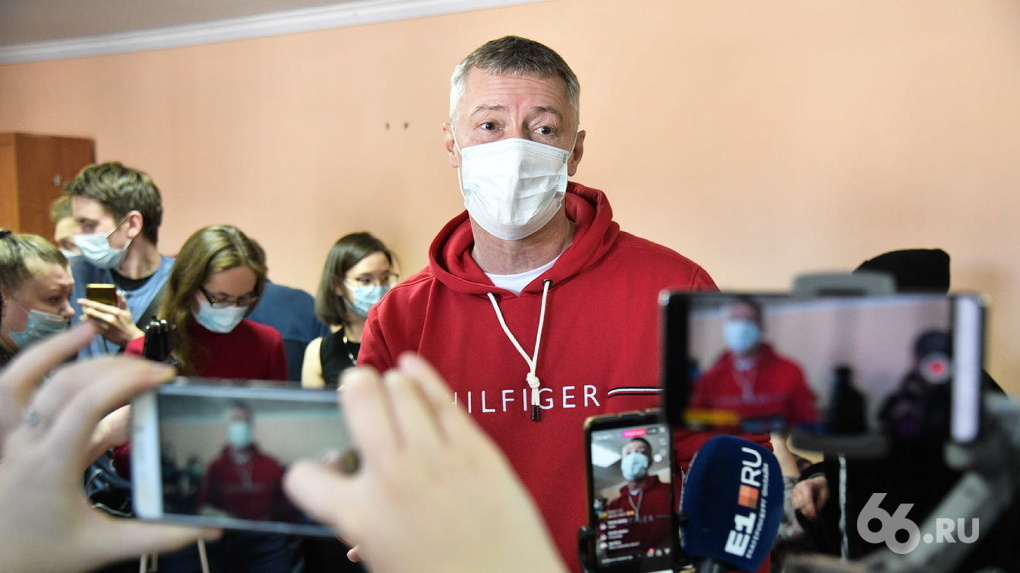 Евгения Ройзмана оштрафовали за участие двух акциях в поддержку Алексея Навального