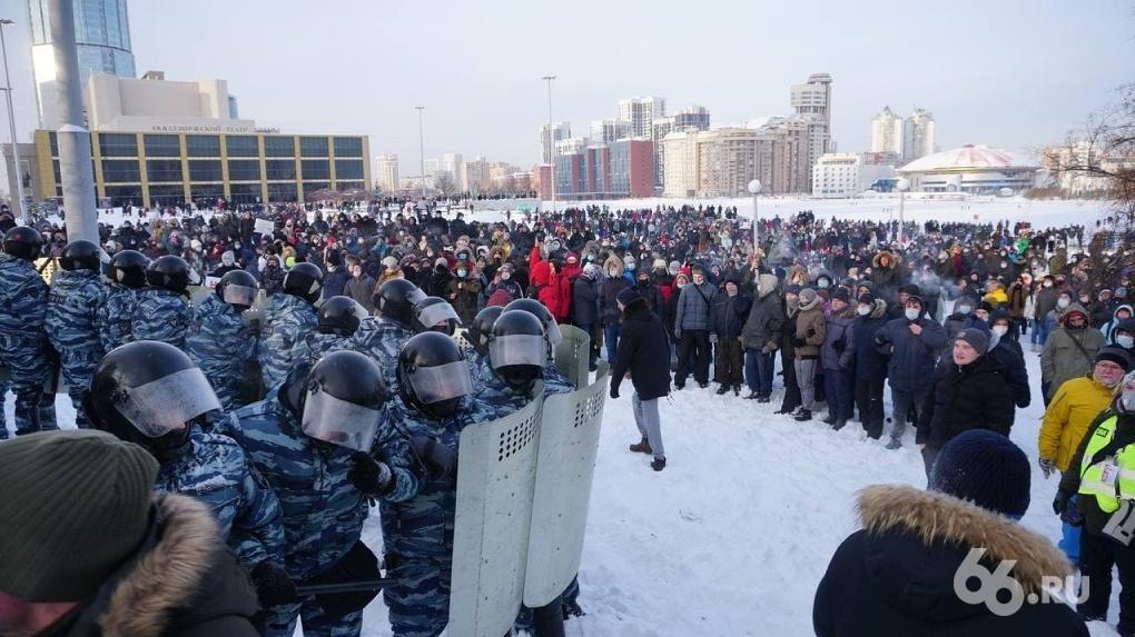 На акциях в поддержку Алексея Навального задержали рекордное число протестующих. Краткие итоги
