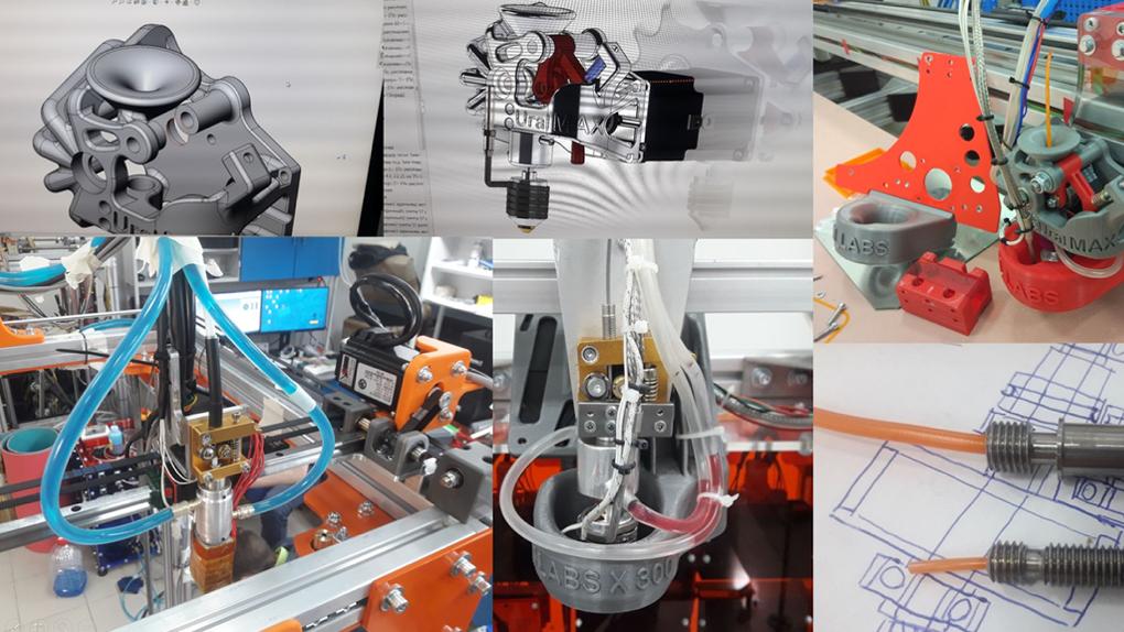 Молодые ученые из Екатеринбурга создали первый российский 3D-принтер для печати искусственных рук и ног
