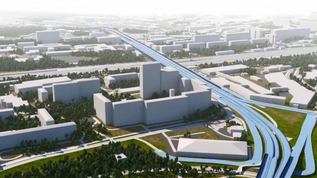 Развязку у «Калины» реконструируют за 6,4 млрд рублей