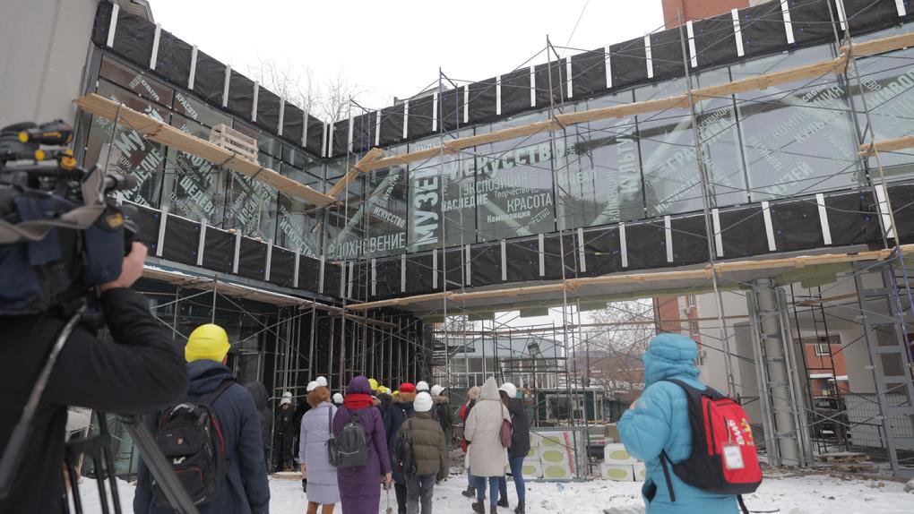 Открытие центра «Эрмитаж – Урал» перенесли в шестой раз. История главного музейного долгостроя