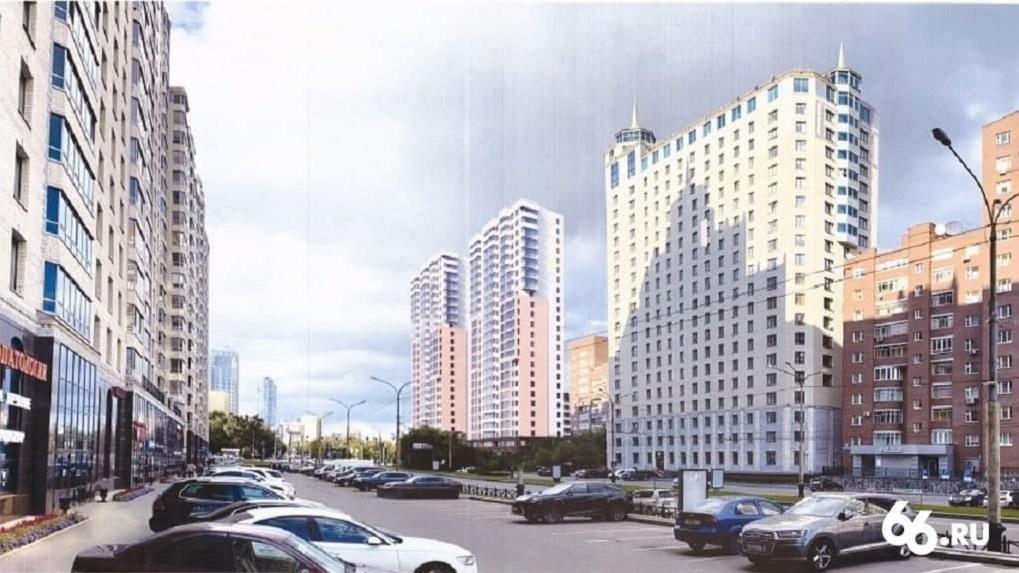 Вот что «Маяк» собирается строить на месте конструктивистского здания ПРОМЭКТ. Рендеры