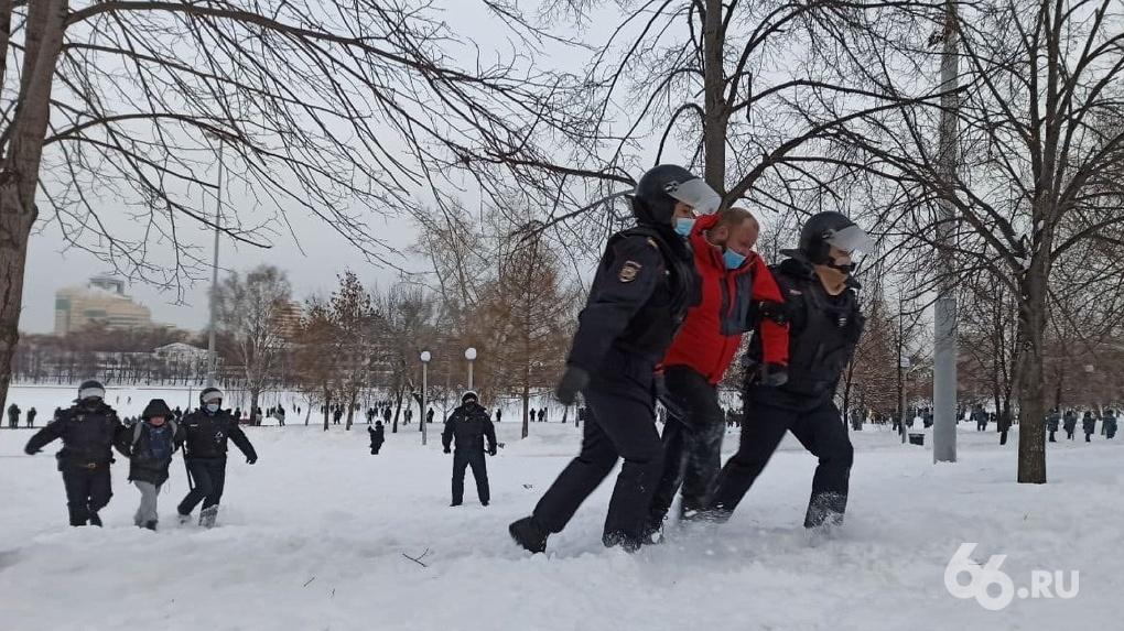 Возбуждены первые уголовные дела после акций протеста в поддержку Алексея Навального
