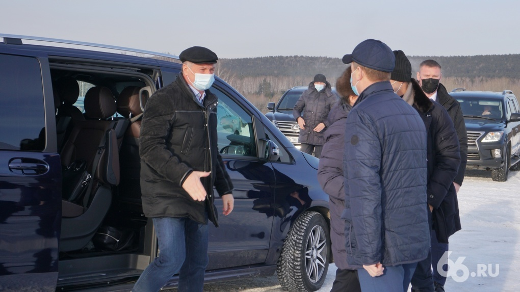 Вице-премьер Марат Хуснуллин проверил, как на стройке ЕКАД тратят путинские миллиарды