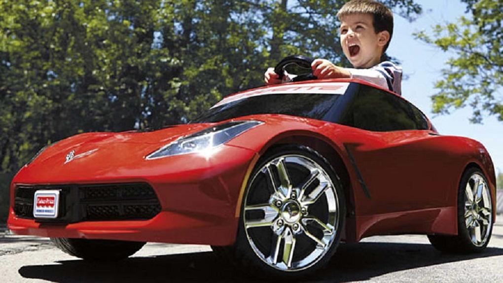 Детский электромобиль нового десятилетия