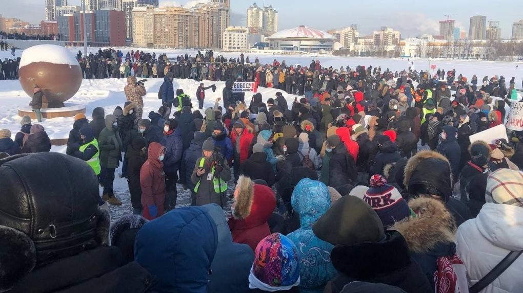 Кремль — о протестных акциях: «Вышло мало людей. Много людей голосуют за Путина»