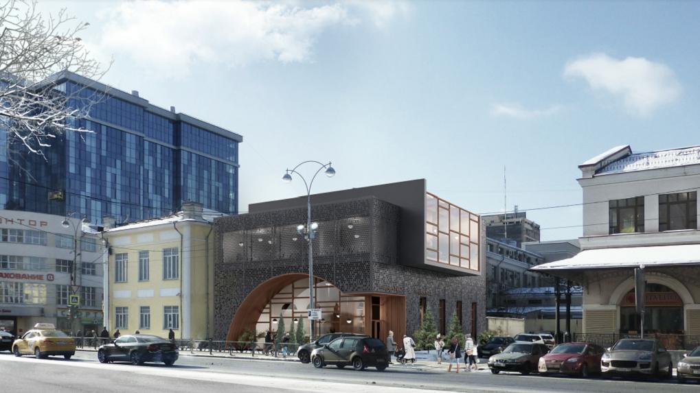 К лету 2022 года у Мытного двора построят новый ресторан. Рендеры