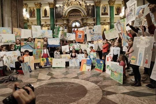 15 мая в Санкт-Петербурге в Международный день семьи состоится социально-культурный проект «Дети мира – дети рисуют мир»