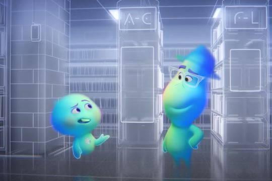 До российского проката добрался очередной шедевр студии «Pixar» – семейный приключенческий анимационный фильм «Душа»