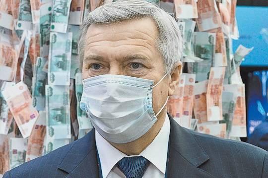 Губернатор Василий Голубев тратит на пиар сотни миллионов рублей