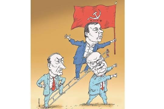 На апрельском съезде коммунисты разорвут свою партию на лоскутки