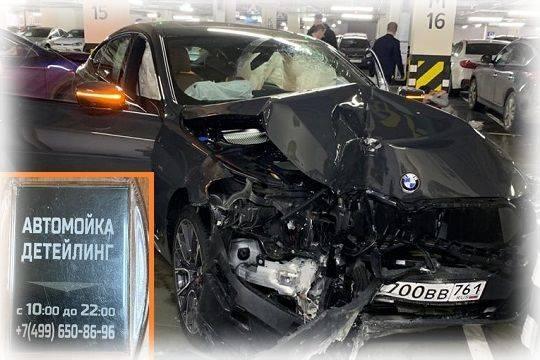 На мойке разбили BMW – страховая не платит, уголовное дело не возбуждают
