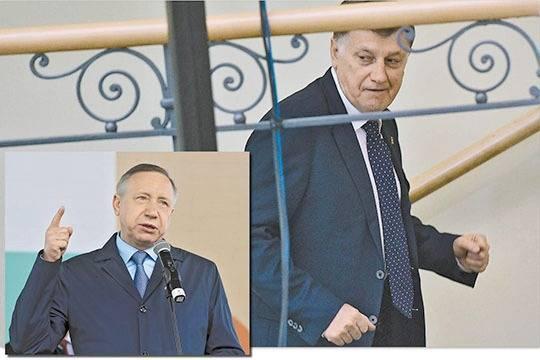 От спикера Заксобрания Петербурга избавились, отправив на повышение