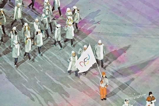 Российские спортсмены два года не смогут выступать под национальным флагом на международных соревнованиях
