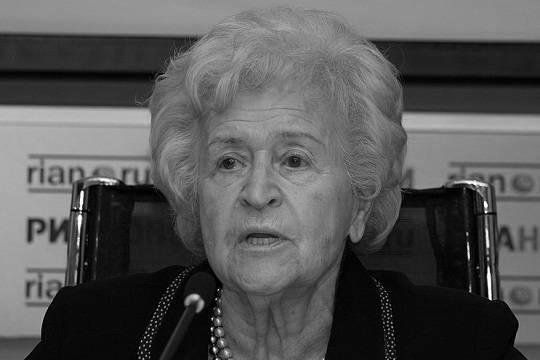 На 99-м году жизни скончалась президент ГМИИ имени Пушкина Ирина Антонова