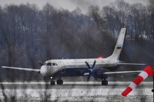 Новый российский самолет Ил-114-300 совершил первый полет