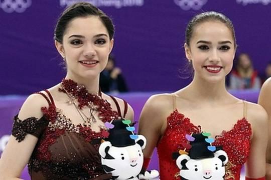 Алина Загитова и Евгения Медведева сразятся в командном турнире по фигурному катанию