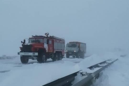 Челябинцам пообещали рекордные сорокаградусные морозы после сильнейших метелей