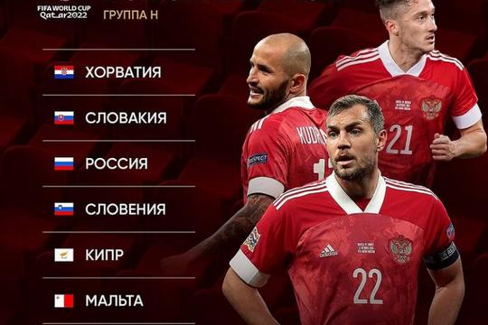 Дзюба и Черчесов прокомментировали итоги жеребьевки отборочного турнира к ЧМ