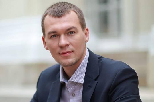 Федеральная помощь укрепила имидж главы Хабаровского края Дегтярёва